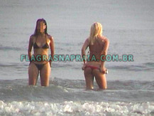 Long Beach - Flagras na Praia