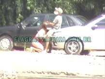 Drive-in natural - Flagras na Praia