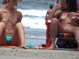 Flagras na praia.com